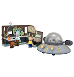 Rick and Morty Large Construction Set Spaceship & Garage