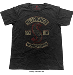 Slipknot Men's Fashion Tee: Patched-Up (Vintage Finish)