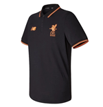 2017-2018 Liverpool Media Motion Polo Shirt (Black) - no sponsor