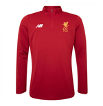 2017-2018 Liverpool Training Sweat (Red) - no sponsor