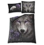 Wolf Soul - Double Duvet Cover + UK And EU Pillow case