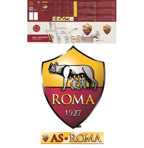 Official as roma wall stickers 282717 buy online on offer for Wall stickers roma