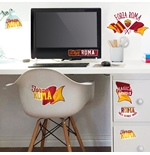 AS Roma Wall Stickers 282718