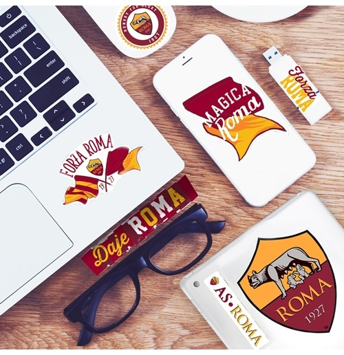 AS Roma Mini Logo Sticker