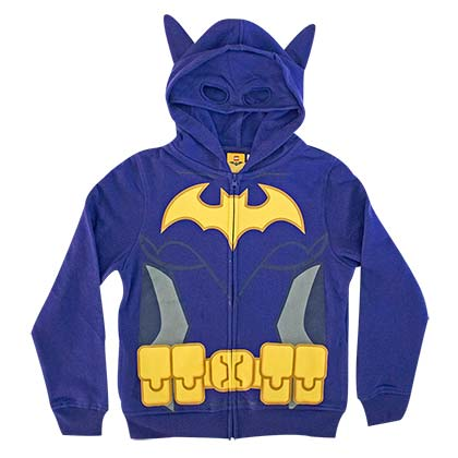 Batgirl Big Girls Costume Hoodie