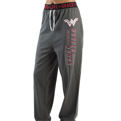 WONDER WOMAN Grey Jogger Sweatpants