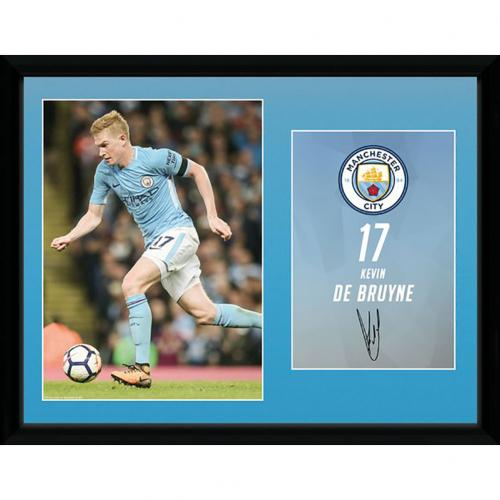 Manchester City F.C. Picture De Bruyne 16 x 12