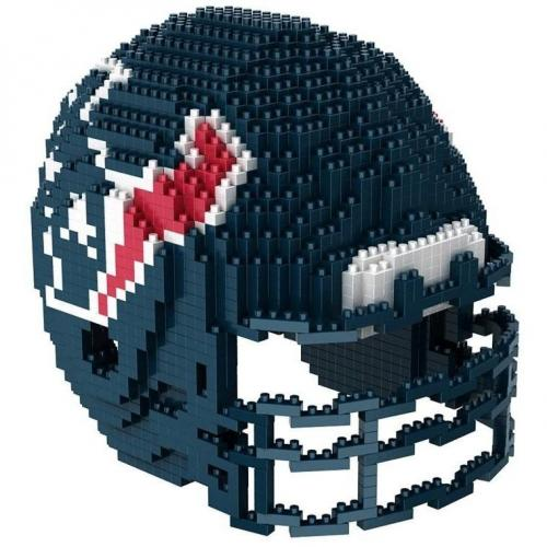 Houston Texans 3D BRXLZ Team Helmet