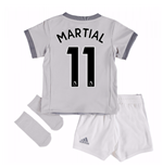 2017-2018 Man United Third Baby Kit (Martial 11)