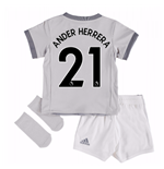 2017-2018 Man United Third Baby Kit (Ander Herrera 21)