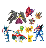 Pokemon Action Figure Multi-Pack Assortment D3 (4)