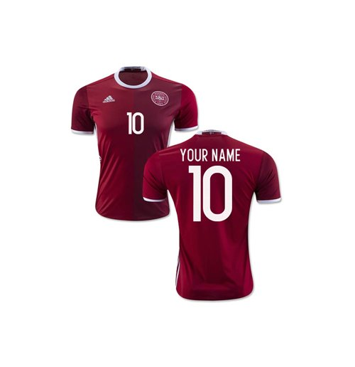2016-2017 Denmark Home Shirt (Your Name) -Kids