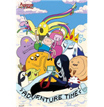 Adventure Time - Clouds Poster Maxi (61x91,5 Cm)