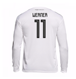 2018-19 Germany Home Long Sleeve Shirt (Werner 11)