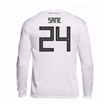 2018-19 Germany Home Long Sleeve Shirt (Sane 24)