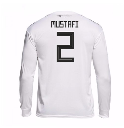 2018-19 Germany Home Long Sleeve Shirt (Mustafi 2)