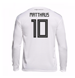 2018-19 Germany Home Long Sleeve Shirt (Matthaus 10)
