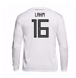 2018-19 Germany Home Long Sleeve Shirt (Lahm 16)