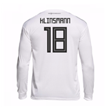 2018-19 Germany Home Long Sleeve Shirt (Klinsmann 18)