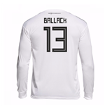 2018-19 Germany Home Long Sleeve Shirt (Ballack 13)