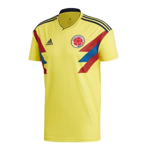 2018-2019 Colombia Home Adidas Football Shirt (Kids)