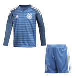 2018-2019 Germany Home Goalkeeper Adidas Mini Kit