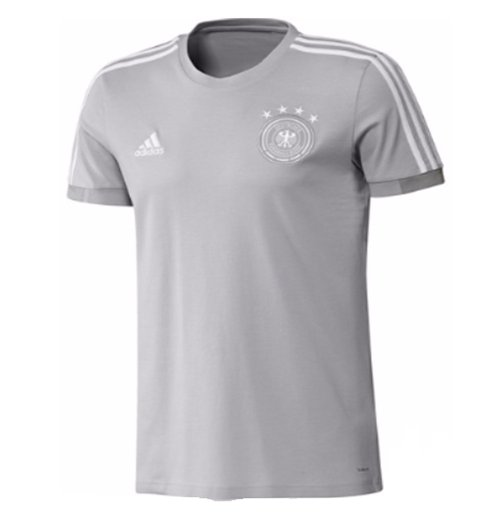 2018-2019 Germany Adidas Training Tee (Grey)