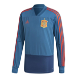 2018-2019 Spain Adidas Training Top (Blue)