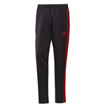 2018-2019 Spain Adidas Presentation Pants (Black) - Kids