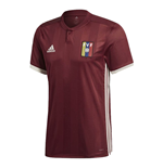 2018-2019 Venezuela Home Adidas Football Shirt