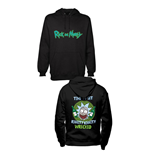 Rick and Morty Hooded Sweater Riggity Riggity Wrecked