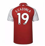 2017-18 Arsenal Home Shirt (S Cazorla 19)