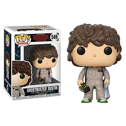 STRANGER THINGS Funko Pop Ghostbuster Dustin Vinyl Figure