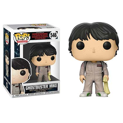 STRANGER THINGS Funko Pop Ghostbuster Mike Vinyl Figure