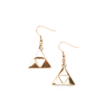 The Legend Of Zelda - Triforce Logo Earrings (Pair)