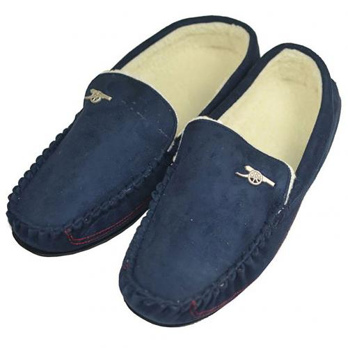Arsenal F.C. Mens Moccasins 9/10 NV