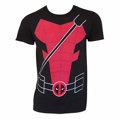 DEADPOOL Suit Up Costume Tee Shirt