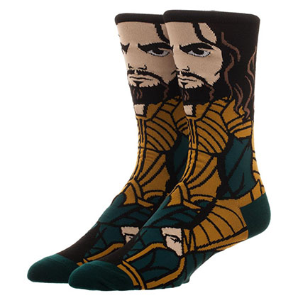 JUSTICE LEAGUE Aquaman Portrait Socks