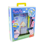PEPPA PIG My Creative Case with 30pc Creative Accessories Kit, Blue