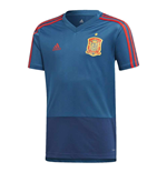 2018-2019 Spain Adidas Training Jersey (Blue)