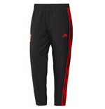 2018-2019 Spain Adidas Woven Pants (Black) - Kids