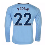 2017-18 Newcastle Away Long Sleeve Shirt (Yedlin 22)