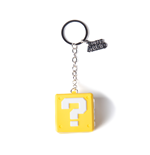 Nintendo - Question Mark Box Rubber 3D Keychain