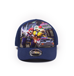 Nintendo -  Mario Cart Front Print Curved Bill Kids Cap
