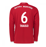 2016-17 Bayern Munich Long Sleeve Home Shirt (Thaigo 6)