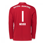 2016-17 Bayern Munich Long Sleeve Home Shirt (Neuer 1)