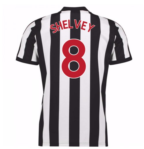 2017-18 Newcastle Home Shirt (Shelvey 8)