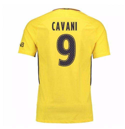 promo code b8c81 2ecb0 2017-18 PSG Away Shirt (Cavani 9)