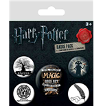 Harry Potter - Symbols Badge Pack