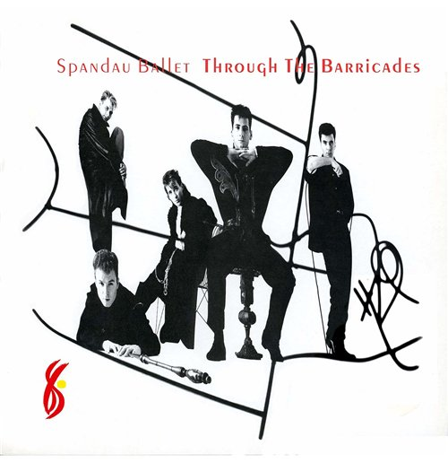 Vynil Spandau Ballet - Through The Barricades
